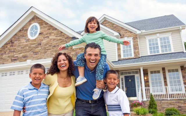 Custom Garage Doors | Commercial & Residential | Garden ... Happy Asian Family In Front Of House